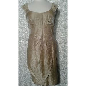Dresses & Skirts - champagne Dress size